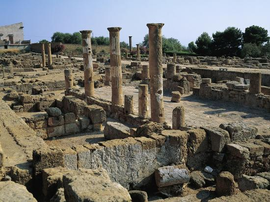 Hellenistic-Roman Quarter of Valley of Temples--Photographic Print