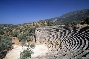 Hellenistic Theatre in Kas, Turkey Hellenistic Civilization, 4th-1st Century BC