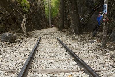 Hellfire Pass Museum, on the Infamous Thai-Burmese Death Railway-Alex Robinson-Photographic Print