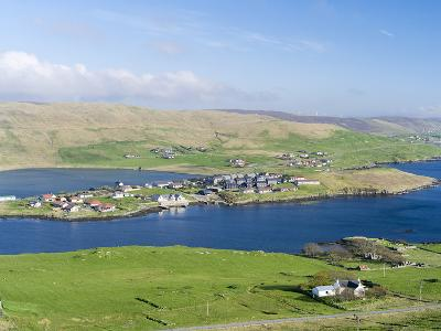 Hellister on the Shore of Weisdale Voe, Shetland Mainland, Scotland-Martin Zwick-Photographic Print