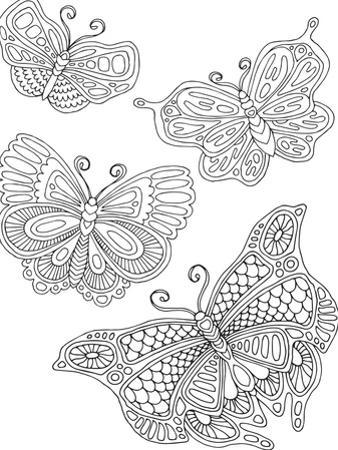 Beautiful Butterflies_4 by Hello Angel