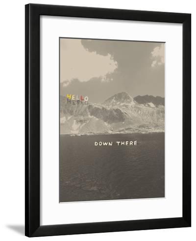 Hello Down There-Danielle Kroll-Framed Giclee Print