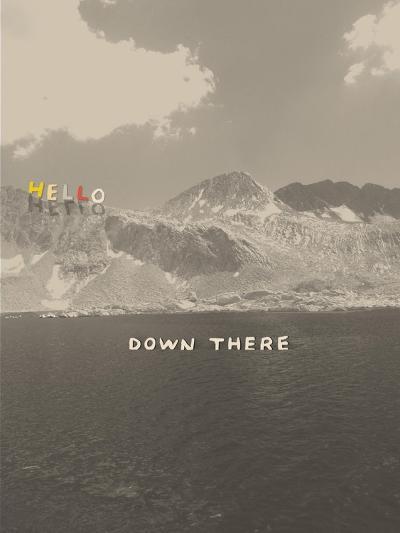 Hello Down There-Danielle Kroll-Giclee Print