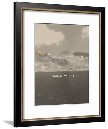 Hello Down There-Danielle Kroll-Framed Giclee Print