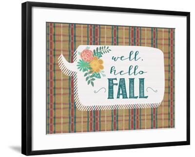 Hello Fall-Jo Moulton-Framed Art Print