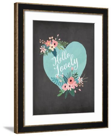 Hello Lovely-Jo Moulton-Framed Art Print