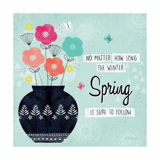 Hello Spring I-Lamai McCartan-Art Print
