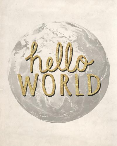 Hello World-Lottie Fontaine-Giclee Print