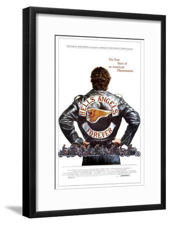 1983 HELLS ANGELS FOREVER VINTAGE DOCUMENTARY MOVIE Poster Fabric HD PRINT