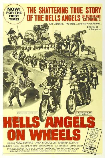 HELLS ANGELS ON WHEELS, 1967--Art Print