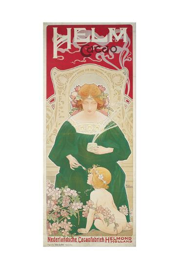 Helm Cacao-Henri Privat-Livemont-Giclee Print