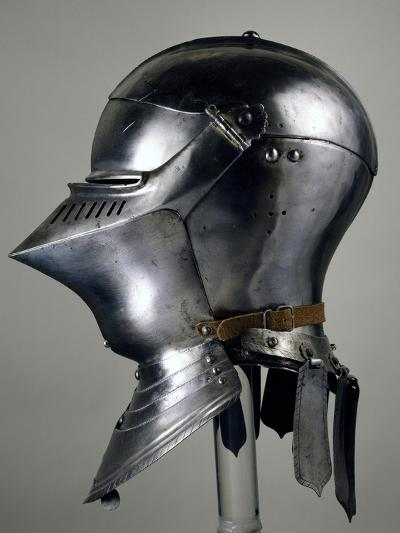 Helmet for Close Combat on Foot, 1490-1492, Which Belonged to Maximilian I of Habsburg--Giclee Print