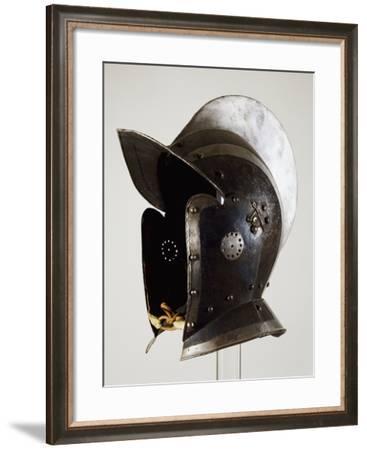 Helmet for Infantryman, 1570, Made in Augsburg, Germany, 16th Century--Framed Giclee Print