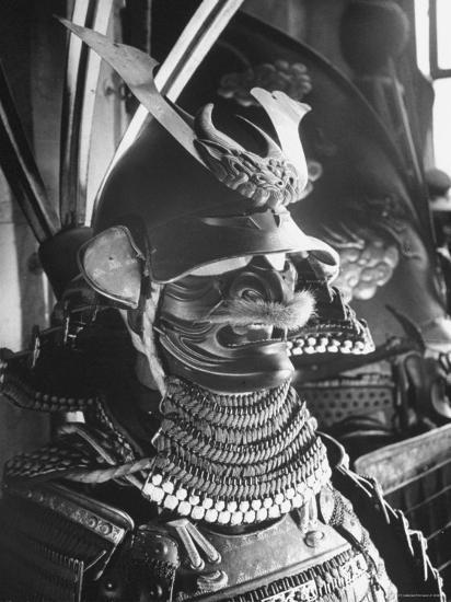 Helmet from Japanese Samurai Suit-Fritz Goro-Photographic Print