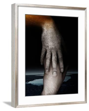 Helping Hand, 2013-Johan Lilja-Framed Giclee Print