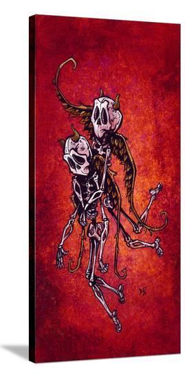 Helping Hand-David Lozeau-Stretched Canvas Print