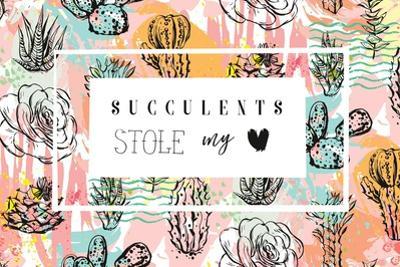 Succulent Love by Helter skelter