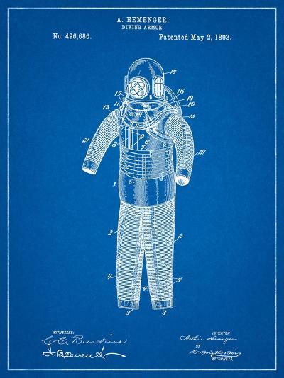 Hemenger Diving Armor-Cole Borders-Art Print