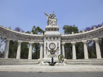 Hemiciclo a Juarez (Benito Juarez Monument), Alameda, Mexico City, Mexico, North America-Wendy Connett-Photographic Print