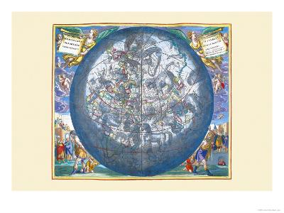 Hemisphaerii Borealis Coeli-Andreas Cellarius-Art Print