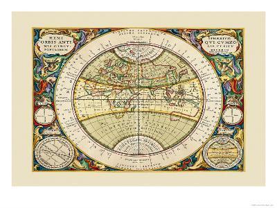 Hemisphaerium Orbis Antiqui-Andreas Cellarius-Art Print