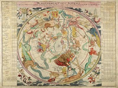 Hemisphaerum Coeli Australe in Quo Loc a Stellarum 1720- Doppelmayer & Homann-Giclee Print