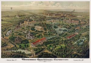 Tennessee Centennial Exposition, Nashville, 1897 by Henderson Litho Co^