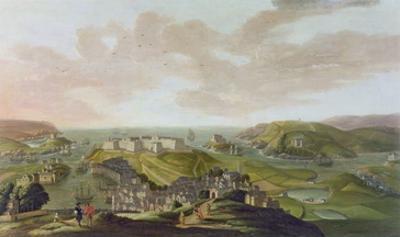 Plymouth, 1673 by Hendrick Danckerts