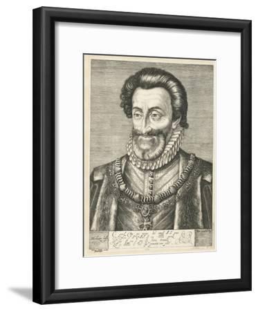 Portrait of King Henry IV of France, Ca. 1600