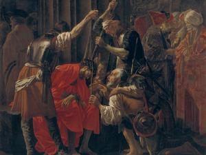 Christ Crowned with Thorns, 1620 by Hendrick Jansz Terbrugghen