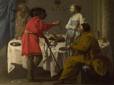 Jacob Reproaching Laban for Giving Him Leah in Place of Rachel, 1627