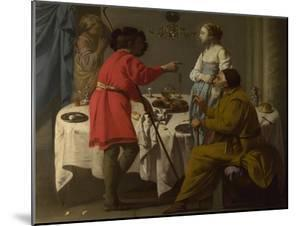 Jacob Reproaching Laban for Giving Him Leah in Place of Rachel, 1627 by Hendrick Jansz Terbrugghen