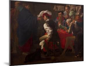 The Calling of Saint Matthew by Hendrick Jansz Terbrugghen