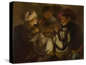 The Concert, C. 1626 by Hendrick Jansz Terbrugghen