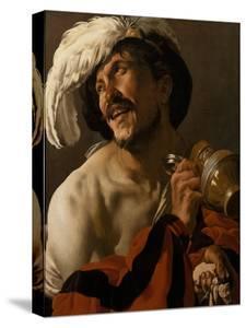 The Merry Drinker, 1625 by Hendrick Jansz Terbrugghen