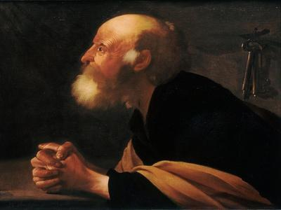 The Repentant Peter, 1616