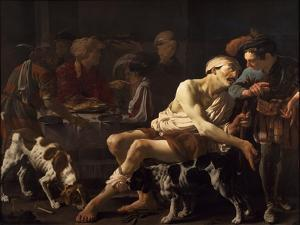 The Rich Man and the Poor Lazarus, 1625 by Hendrick Jansz Terbrugghen