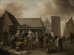 Fish Market by Hendrick Martensz Sorgh