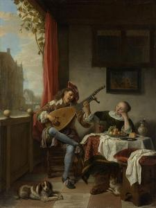 Lutenist by Hendrick Martensz Sorgh