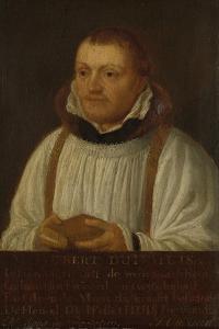 Portrait of Huybert Duyfhuys, Minister of St Jacobskerk in Utrecht by Hendrick Martensz Sorgh