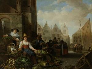 Vegetable Market by Hendrick Martensz Sorgh