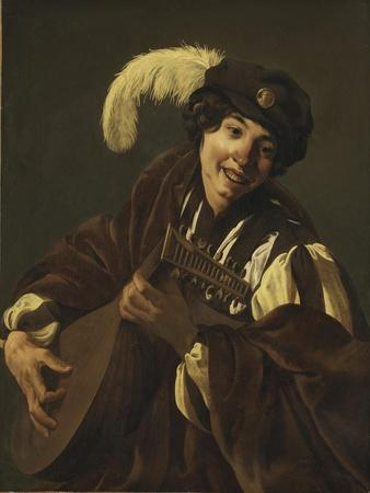 Boy playing the Lute, 1620s