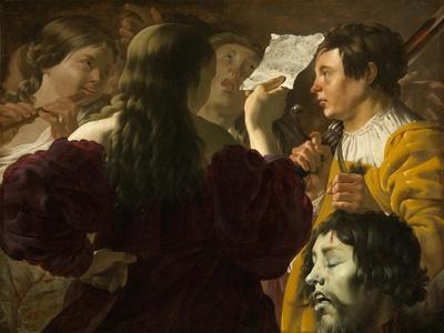 David Praised by the Israelite Women, 1623