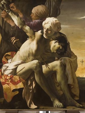 St. Sebastian Tended by Irene, 1625