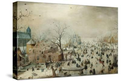Winter Landscape with Skaters. C.1608