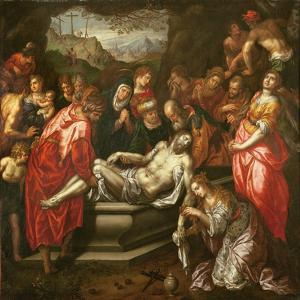 Entombment by Hendrik De Clerck