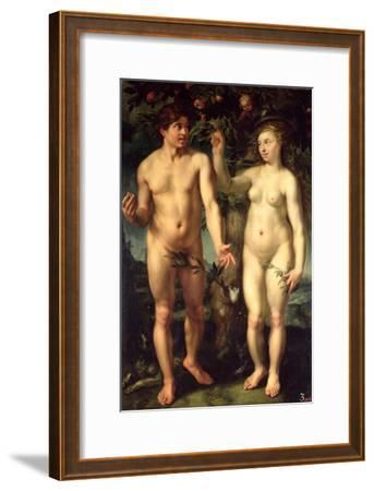 Adam and Eve, 1608