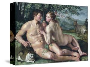 The Fall of Man by Hendrik Goltzius