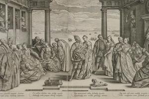 The Venetian Wedding, 1584 by Hendrik Goltzius