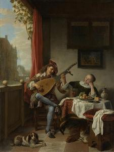 The Lute Player, 1661 by Hendrik Maertensz Sorgh